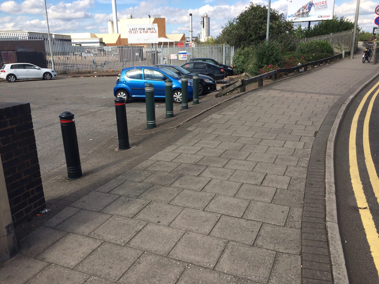 Filtered permeability at Nechells Place