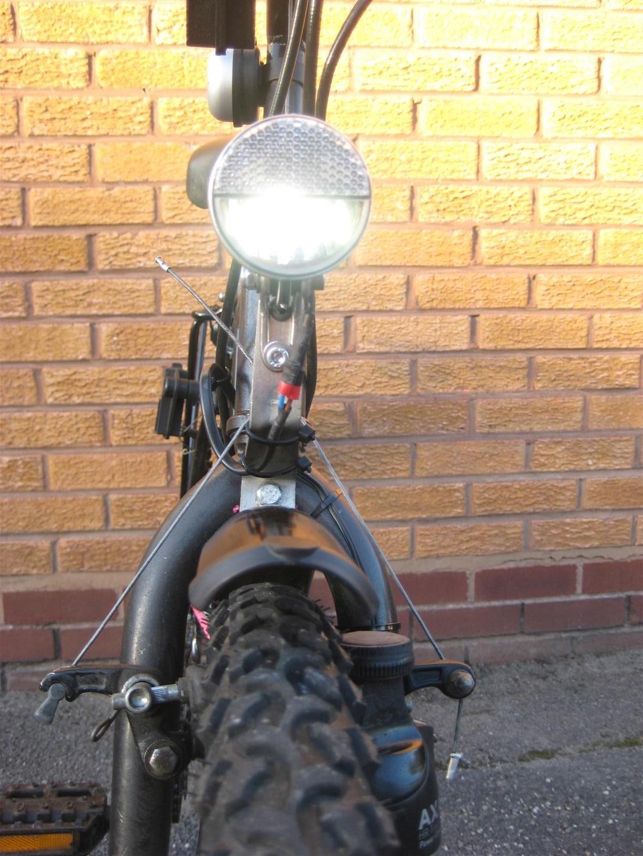 Headlamp angle