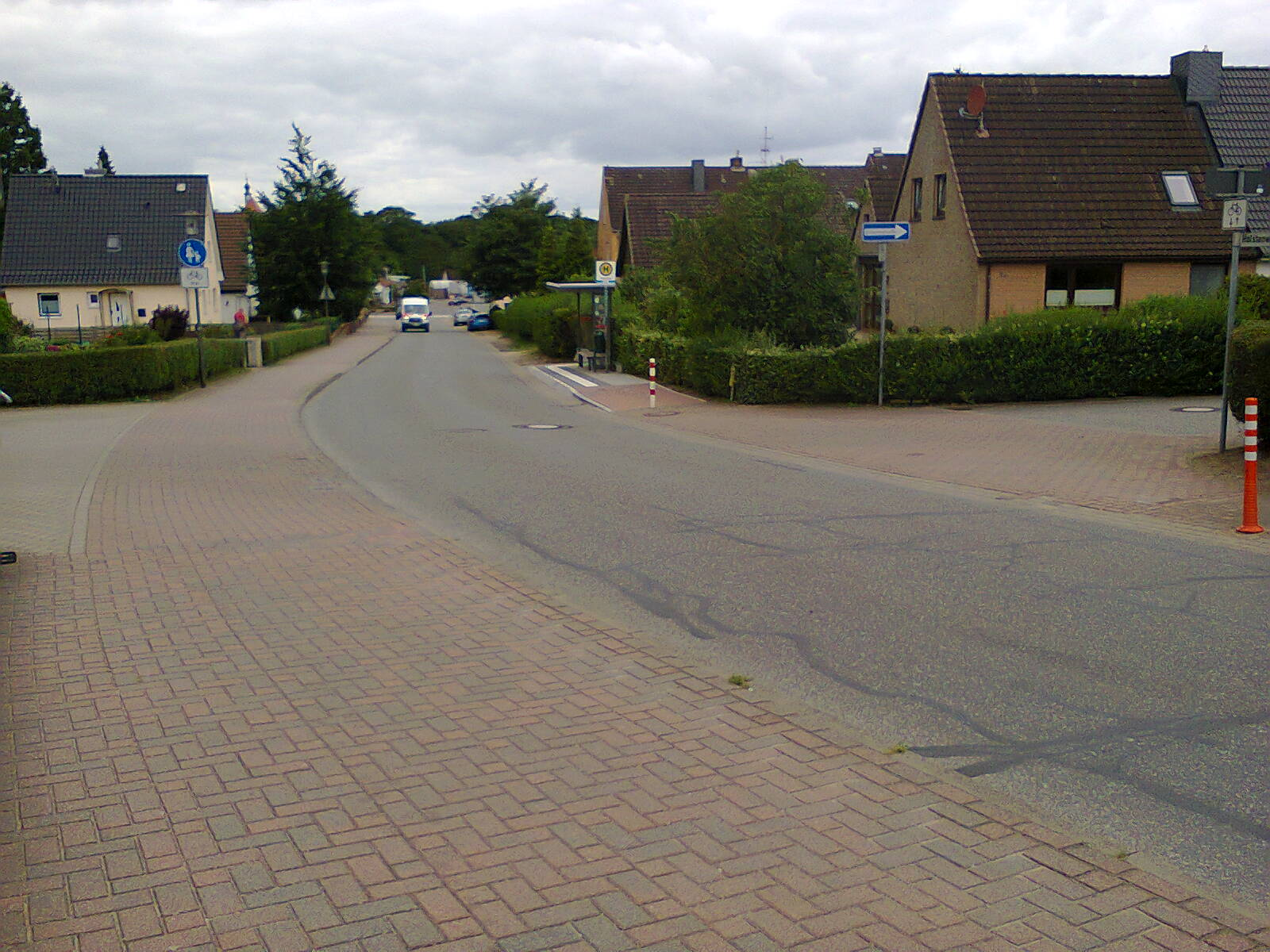 A Residential Road in Germany