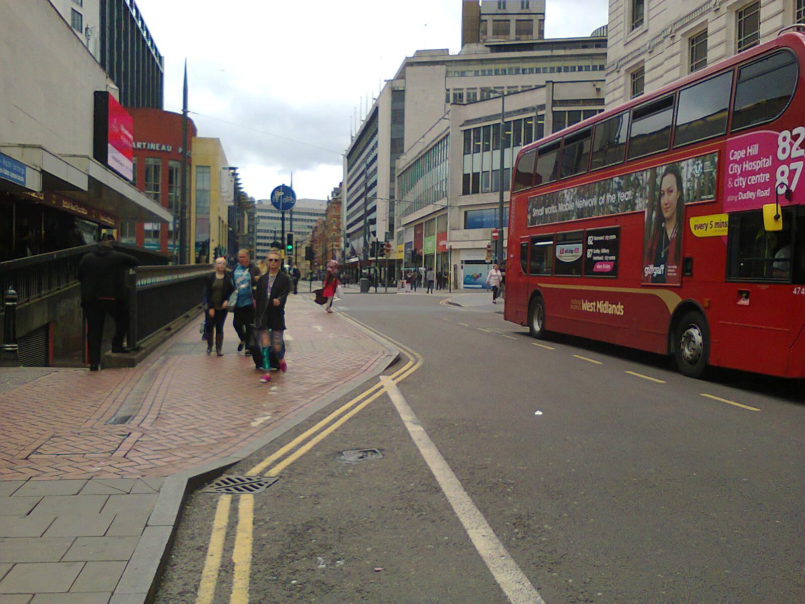 Corporation Street Return Journey (1)
