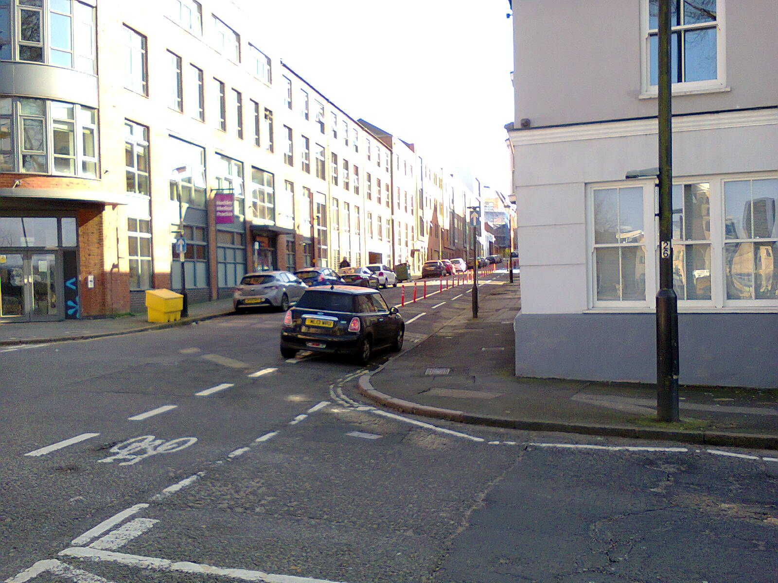 Carver Street - Warstone Lane Junction