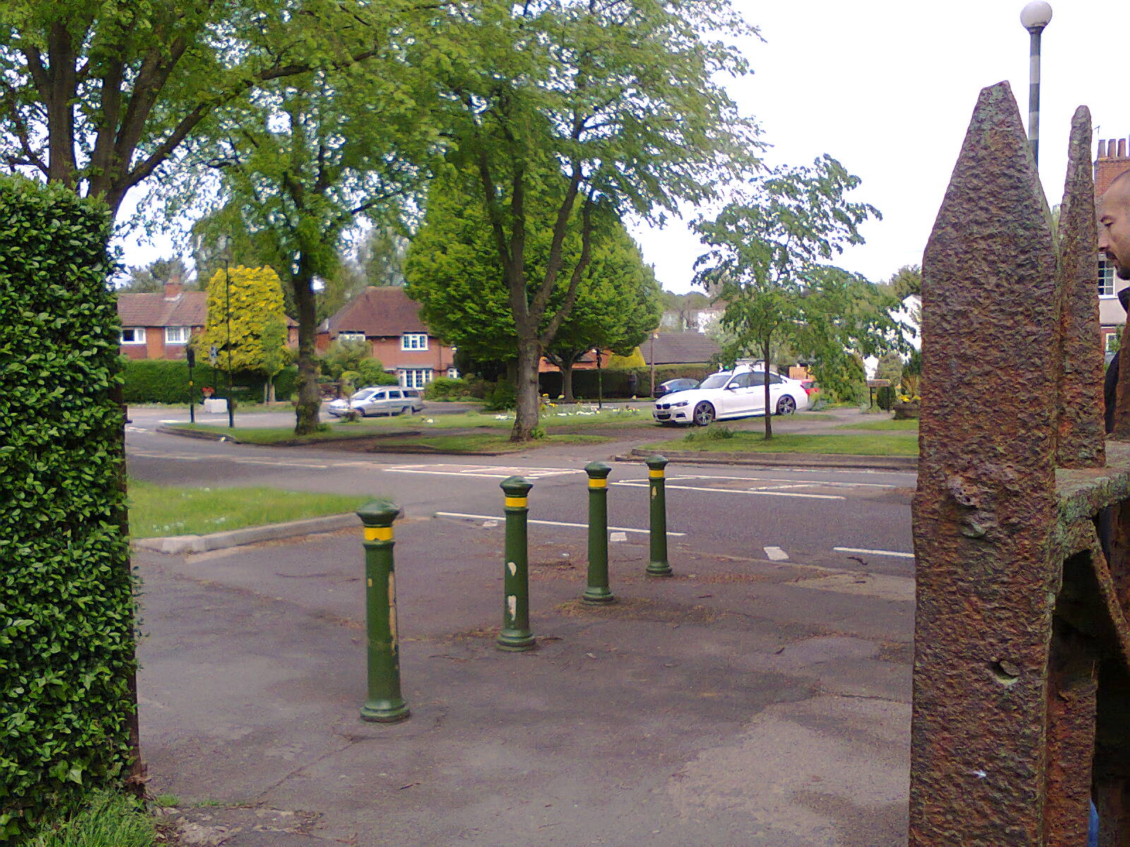 Bournville Lane from Gallows Brook Path