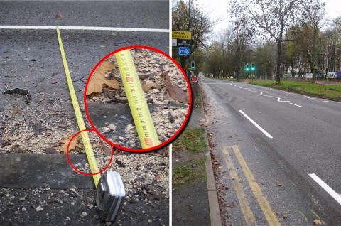 Bristol Road cycle lane