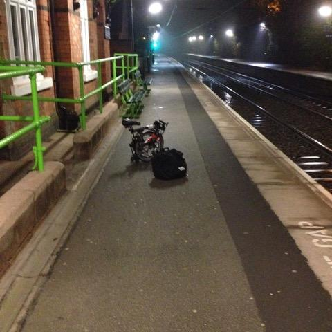 A Brompton on Shenstone Station