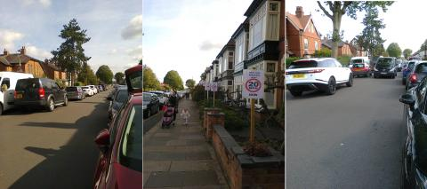 Mary Vale Road traffic protest