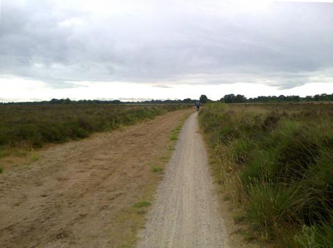 Silent area in The Netherlands