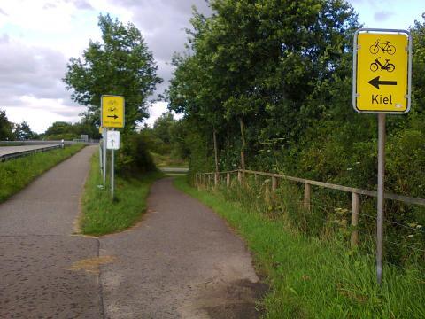 rural road junction