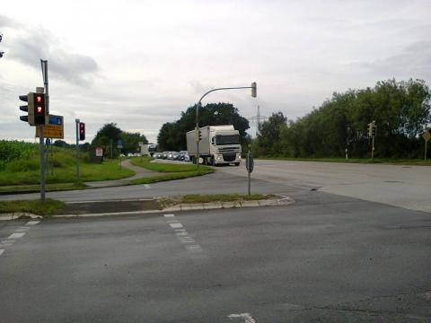 A Junction on a Major Road in Germany
