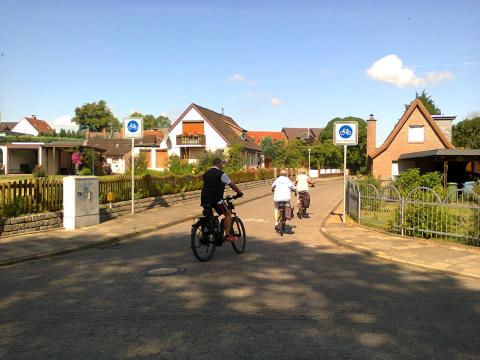 Fahrradstraße (bicycle street)