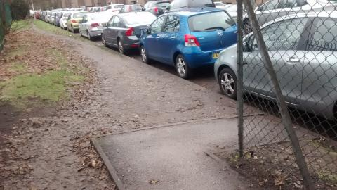 Poor quality path at the QE