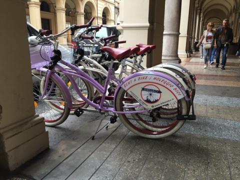 Hire bikes in Bologna