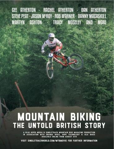 Poster for the film Mountain Bike: The Untold Story