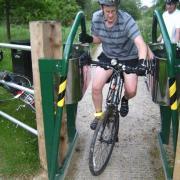 Barrier on Bournbrook Way