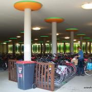 Cycle parking at Assen Station