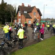 Rea Valley ride at the entrance to Cannon Hill Park