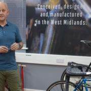 Adrian Passmore of Red Kite Cycles at Bullfinch launch