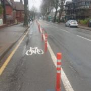 Bournbrook Pop-Up Cycle Lane