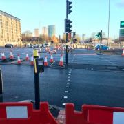 New crossings at the Middleway