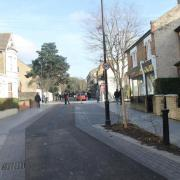 Mini Holland Street in Walthamstow