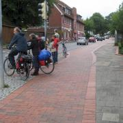 Segregated cycle path  in Preetz