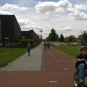 Social housing area in the Netherlands