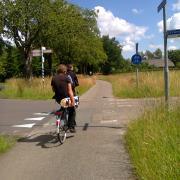 Side road crossing