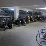 Covered cycle parking