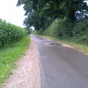 A Minor Country Road in Germany