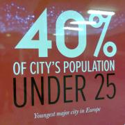Forty percent of the population of Birmingham is under 25