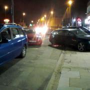 Selly Oak High Street pavement