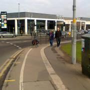 People travelling foot or by bike don't get much consideration in the Selly Oak Green Travel District