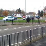 Traffic jam outside the new Sainsbury's at Selly Oak