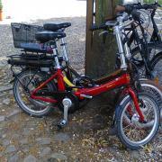 Two Folding E-Bikes