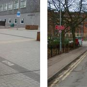 Shared Space fail at Birmingham University