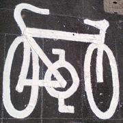 Badly drawn bike icon
