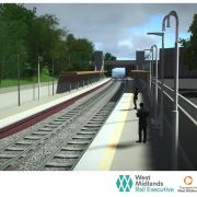 CGI created of the proposed Kings Heath station
