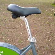 WM hire bike seat