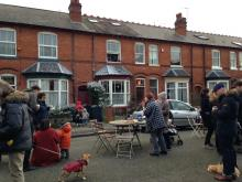 Christmas Playing Out Street Party