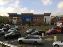 Traffic congestion at Selly Oak Triangle