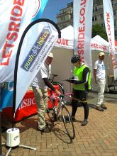 The Push Bikes stand at City Ride