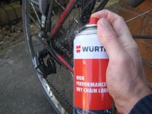Würth dry chain lubricant
