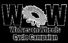 Wolves on Wheels logo