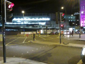 NCN5 southbound closed